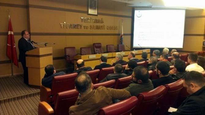 İkram sektörüne ait işletmelere yönelik bilgilendirme toplantısı