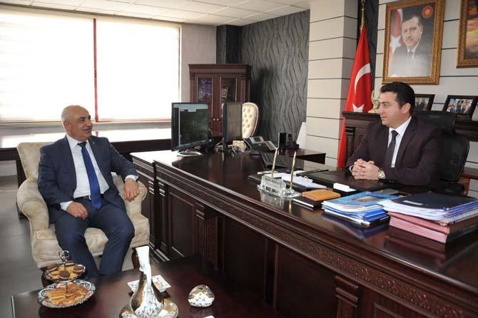 Bilecik TSO'dan Başkan Bakıcı'ya ziyaret