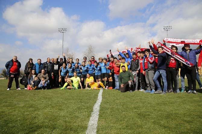 1207 Antalya Döşemealtı Belediye Spor'dan hazırlık maçı