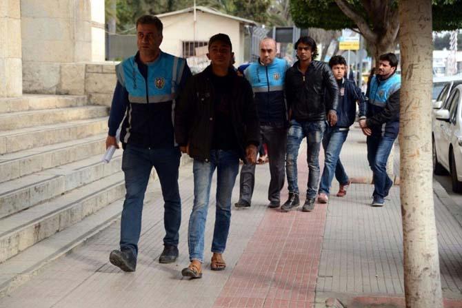 Adana'da çocukları dilendirenlere operasyon