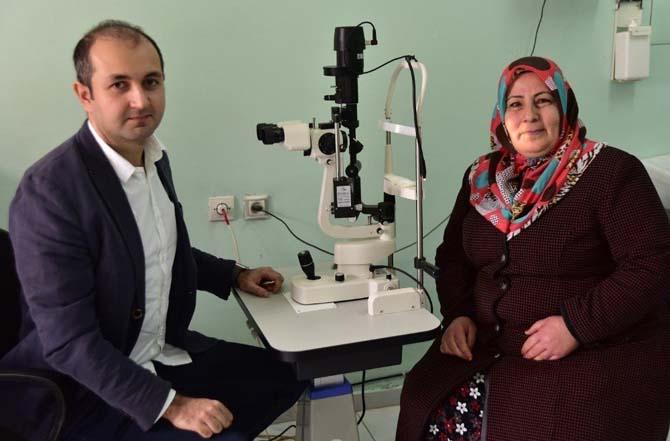 Ahlat'a göz doktoru atandı
