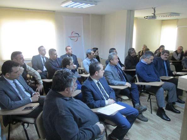 Aydın Bilim Sanayi ve Teknoloji İl Müdürlüğü' nde eğitim düzenlendi