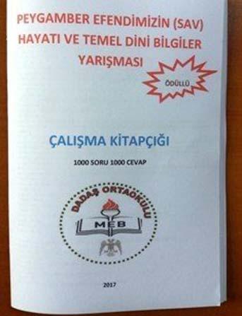 Dadaşköy'de ödüllü 'Siyer-i Nebi Yarışması'