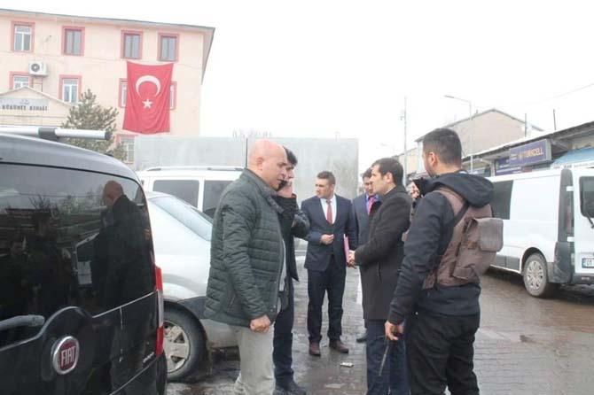 Başkan Korkut'tan Tutak Kaymakamı Erat'a ziyaret