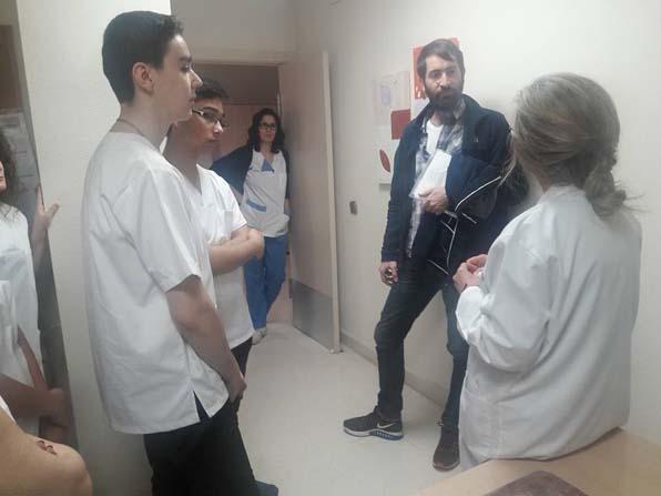 Salihli'nin hemşirelik öğrencileri İspanya'da staj yaptı