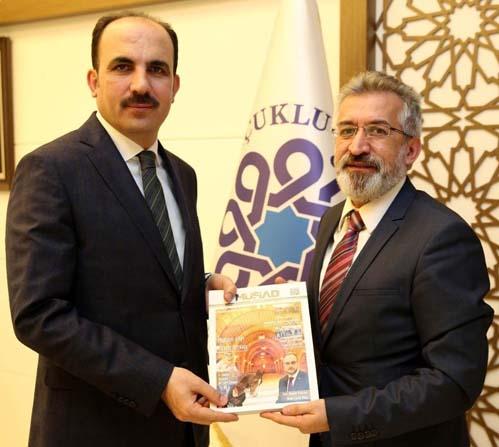 Lütfi Şimşek'ten Başkan Altay'a teşekkür ziyareti