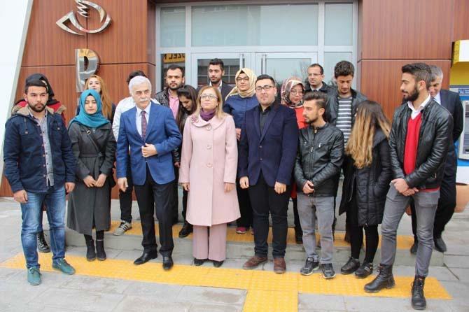 Üniversite öğrencileri El Bab'ta görev yapan askerlere mektup gönderdi