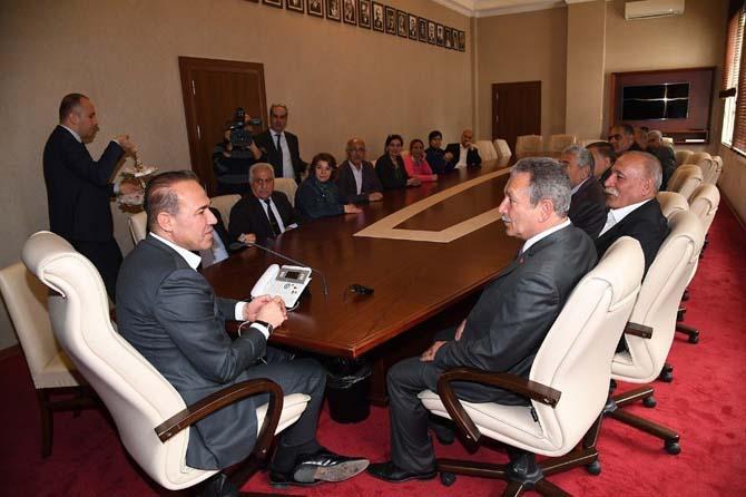 Alevi derneklerinden Başkan Sözlü'ye tam destek