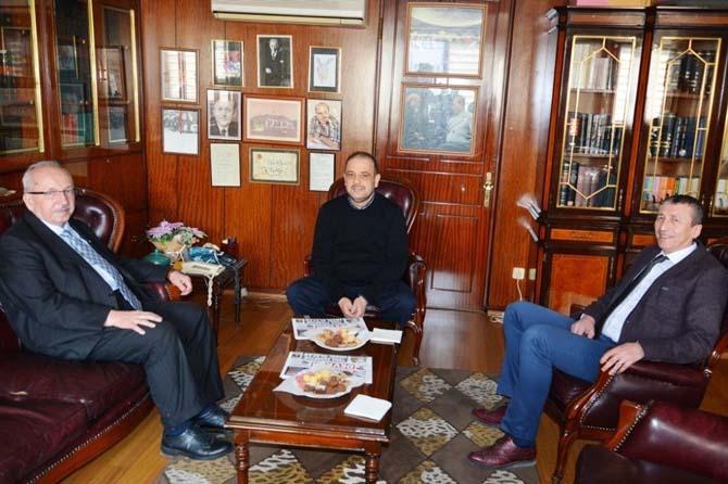 Başkan Albayrak, Çorlu'da ziyaretlerde bulundu