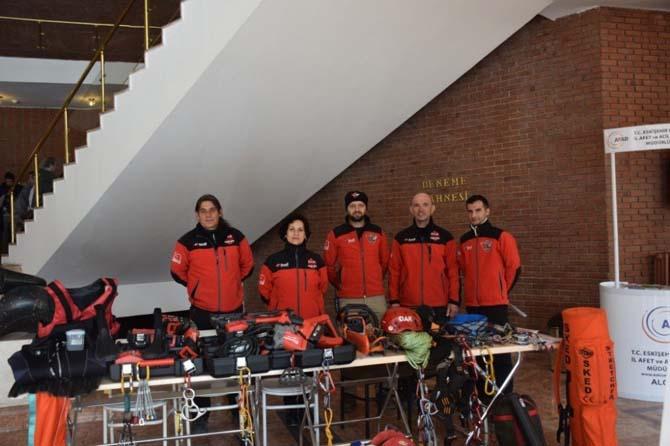 Anadolu Üniversitesi'nde Deprem Haftası etkinliği