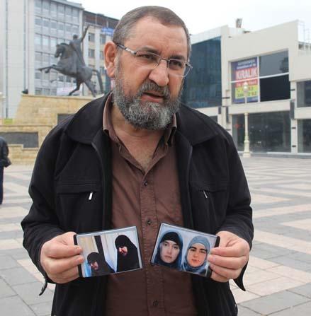 Danimarka'dan kaybolan kızlarını Gaziantep'te arıyor