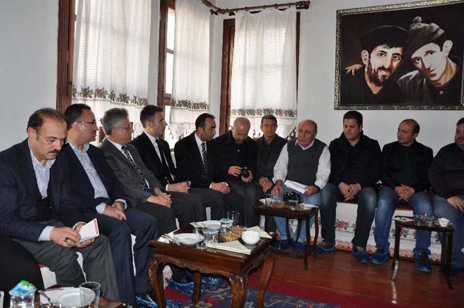 Bakan Bozdağ Yozgat'ta basın mensuplarını dinledi