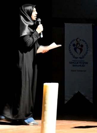 Batman'da şiir okuma yarışmasında birinciler belirlendi