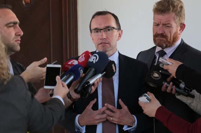KKTC Cumhurbaşkanı Akıncı, BM Genel Sekreteri Kıbrıs Özel Danışmanı Eide ile görüştü