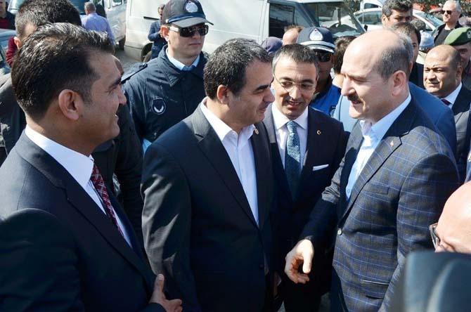 İçişleri Bakanı Süleyman Soylu, Milas'ta tarım fuara katıldı
