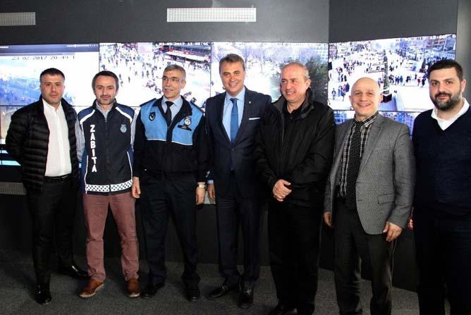 Fikret Orman'dan İBB Zabıta Daire Başkanlığına ziyaret
