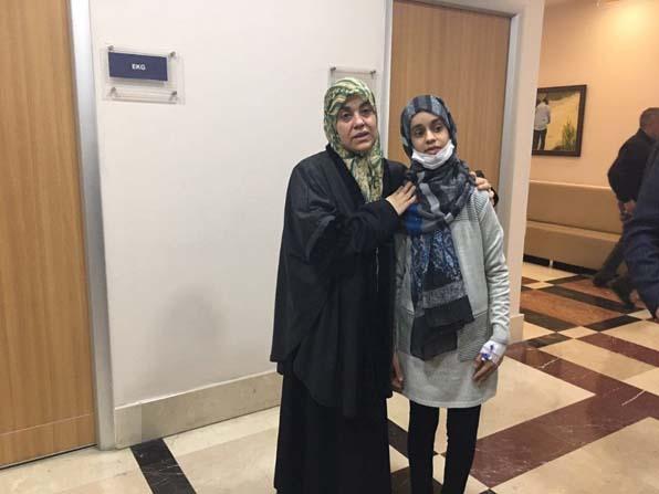 Libya'dan geldi, Türkiye'de şifa buldu