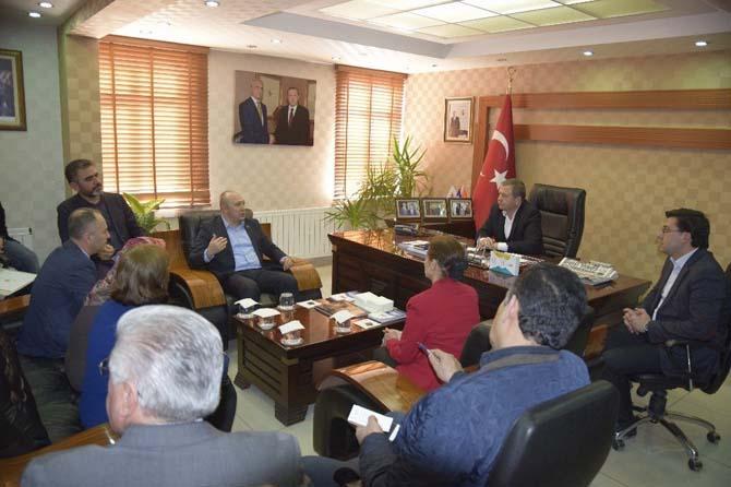 MHP Kırıkkale İl Başkanı'ndan AK Partiye Ziyaret