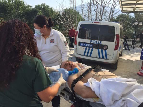 Milas'ta iş kazası; 1 ağır yaralı
