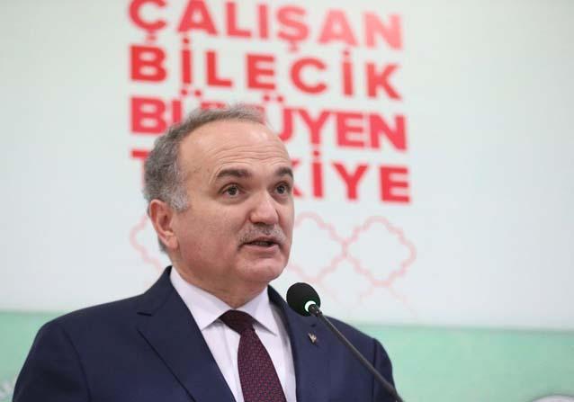 """Bakan Özlü: """"Kim ne yaparsa yapsın, Türkiye'nin yükselişine engel olamayacak"""""""