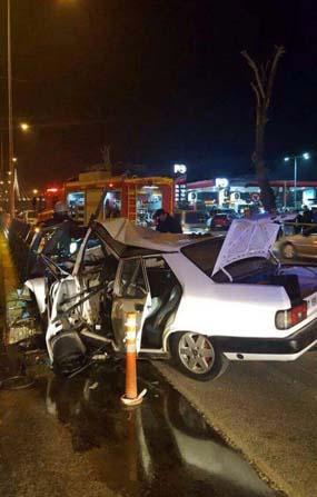 Denizli'de tüp geçitte kaza: 1 ölü