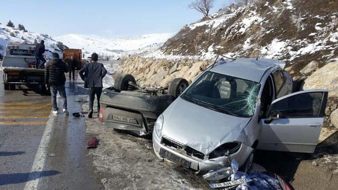Gizli buzlanma 3 ayrı kazaya sebebiyet verdi
