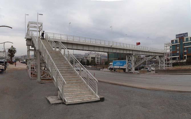Kocaeli'ye 3 yeni yaya köprüsü daha yapılacak