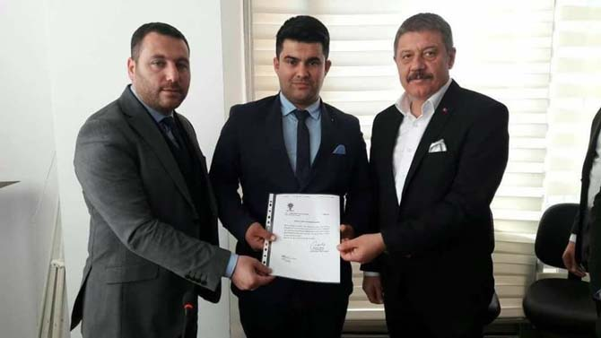 AK Parti Anamur Gençlik Kolları Başkanlığına Adem Ceylan atandı