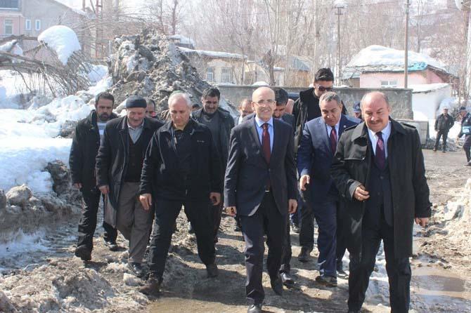 Başbakan Yardımcısı Şimşek Muş'ta