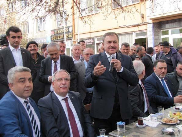 Bakan Eroğlu'ndan, Hisarcık'ın üç köyüne gölet sözü