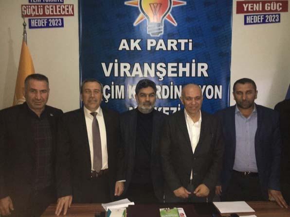 Karaman Belediye Başkanı Ertuğrul Çalışkan, Viranşehir'de