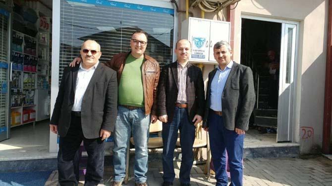 İhlas Vakfı heyetinden Gazi'ye ziyaret