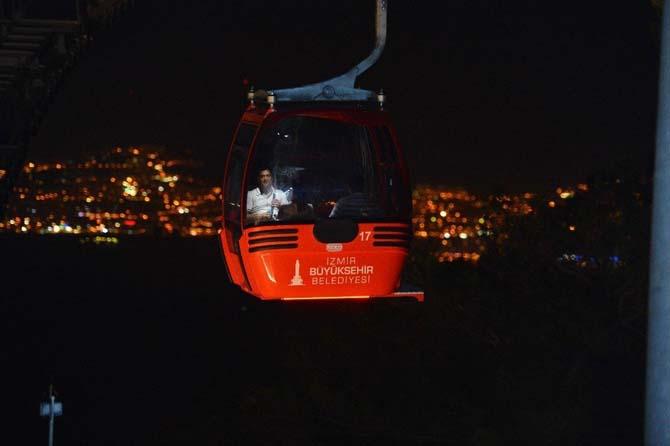 İzmir'in teleferiği 1 Nisan'a kadar kapalı