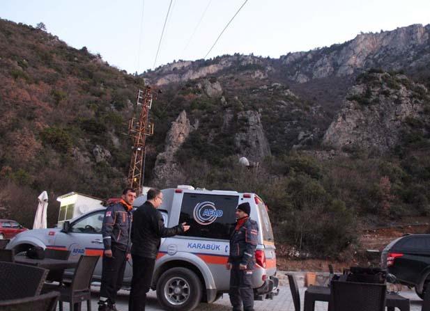 Uçurumda mahsur kalan 2 Suriyeli öğrenci 12 saatte kurtarıldı