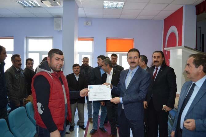 Adilcevaz'da girişimcilik kursu