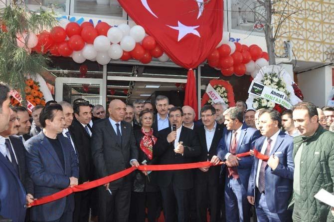 Marmara Dengizekler AGT Stor Mağaza açılışı yapıldı
