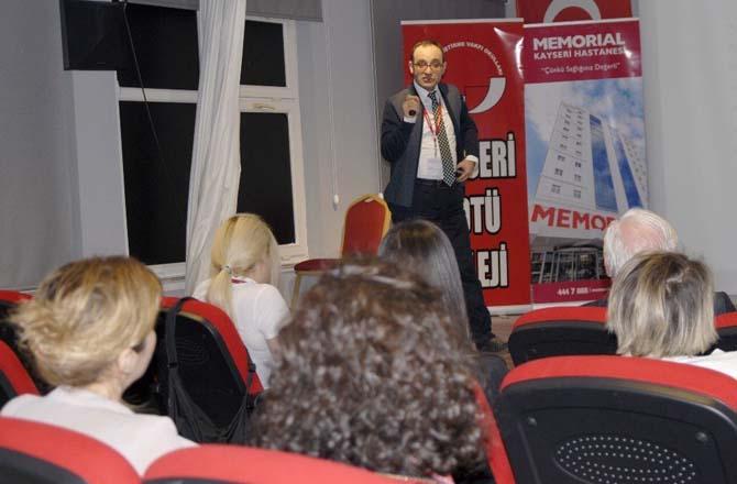 Memorial Kayseri Hastanesi, Öğretmenlere Obezite'yi Anlattı