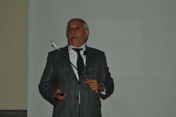 """Prof. Dr. Şahin: """"Ekonomik ilerlemede enerjinin etkisi büyük"""""""