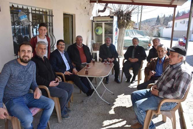 Başkan Çelik'ten vatandaşlarla referandum buluşması