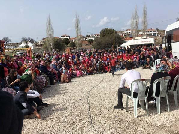 Selçuk'un gönüllü öğrencilerinden Ayvacık'a manevi destek
