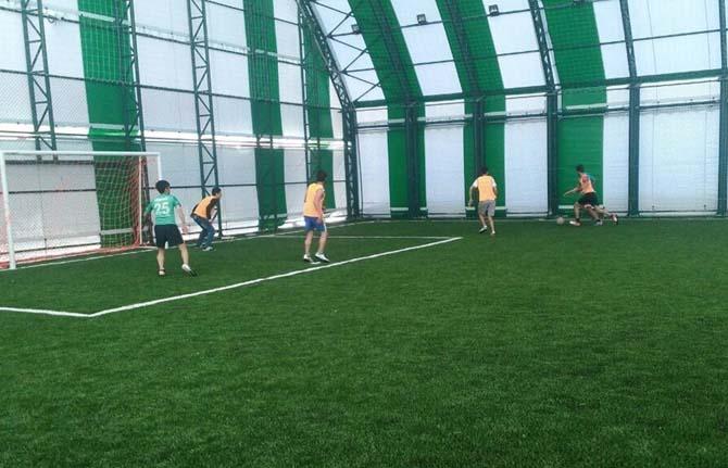 Adilcevaz'da KYK halı saha futbol turnuvası