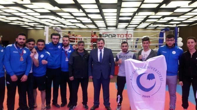 Adıyaman Üniversitesi Kick Boks takımı Türkiye ikincisi oldu