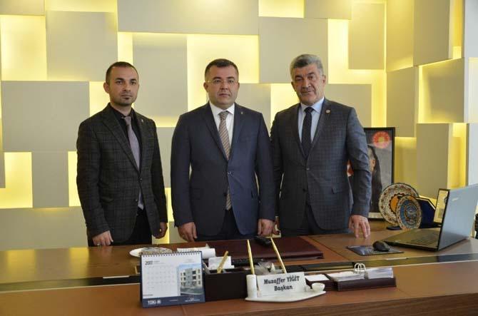 Keskin'den Yığılca Belediye Başkanı Yiğit'i ziyaret etti