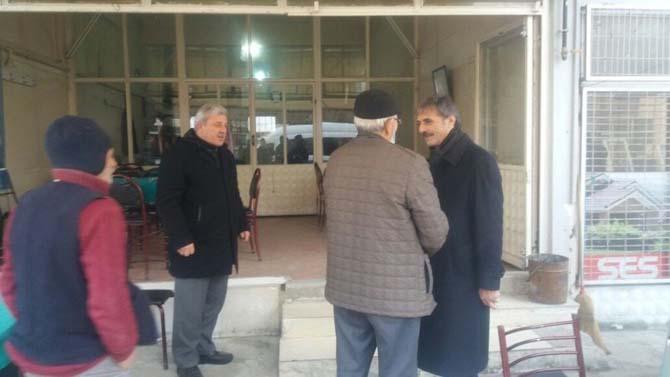 Başkan Alemdar, cami cemaatinin misafiri oldu