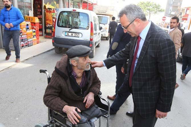 Başkan Köşker'den mahalle inceleme turu