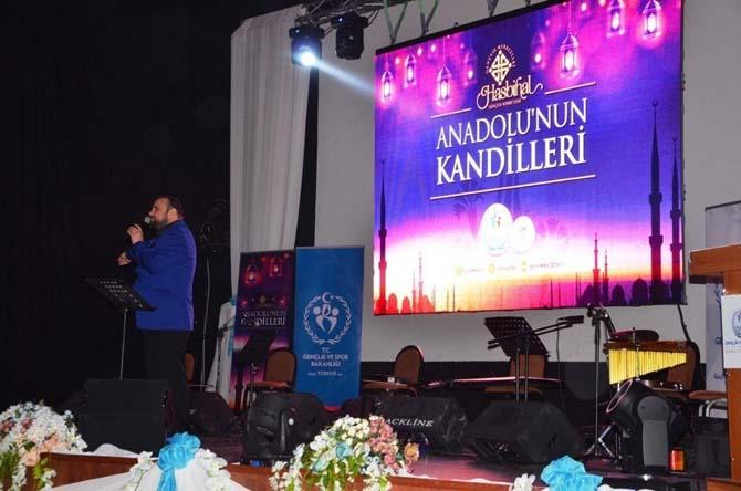 """Çarşamba'da """"Anadolu'nun Kandilleri"""" salon programı"""