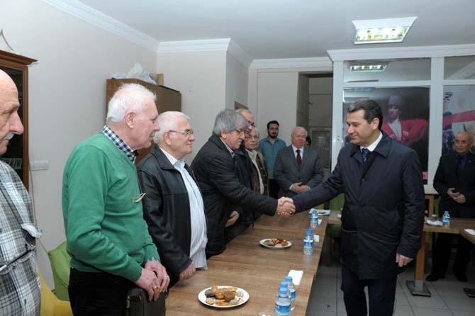 Vali Çelik, Kuzey Kafkas Kültür ve Dayanışma Derneğini ziyaret etti