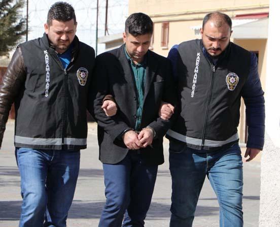 Dayakçı market çalışanı tutuklandı