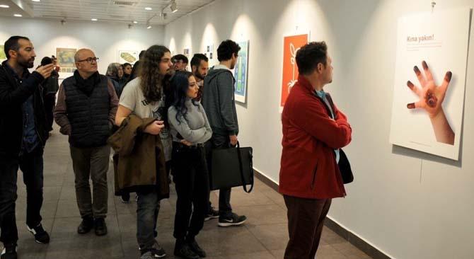 İllüstrasyon ve Grafik Tasarım Sergisi açıldı
