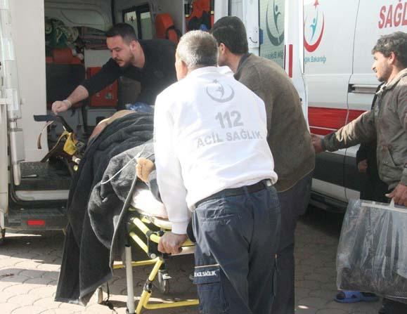 El Bab'da yaralananlar Kilis'e getirildi